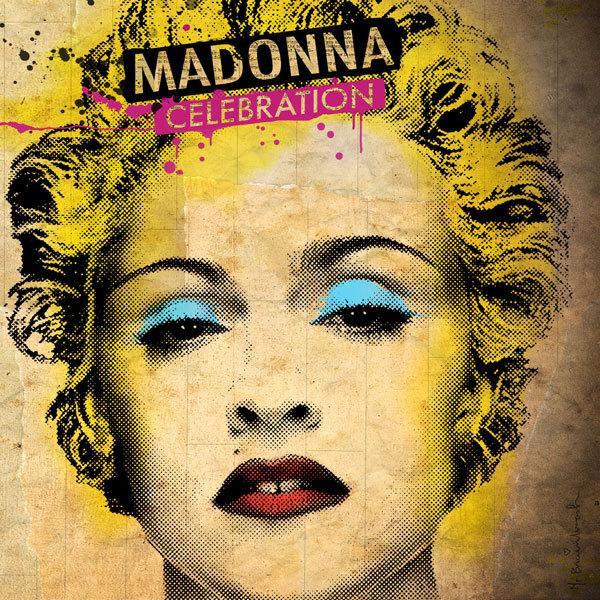 Divulgação da capa do último cd de Madonna pela Warner